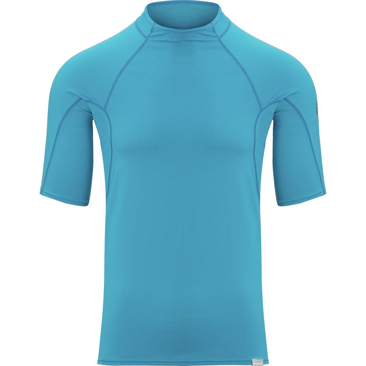 photo: NRS Men's H2Core Rashguard Short-Sleeve short sleeve paddling shirt
