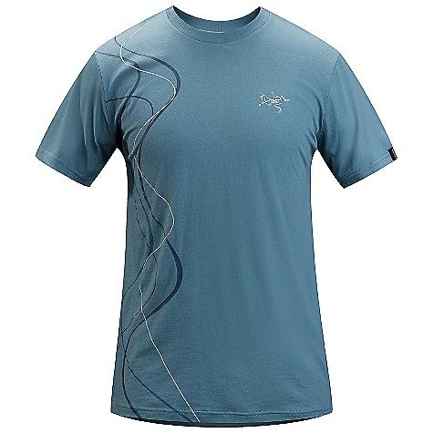photo: Arc'teryx Tracks T Shirt short sleeve performance top