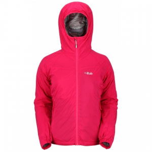 photo: Rab Women's Strata Hoodie synthetic insulated jacket