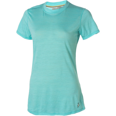 photo: Smartwool Women's Microweight Tee base layer top