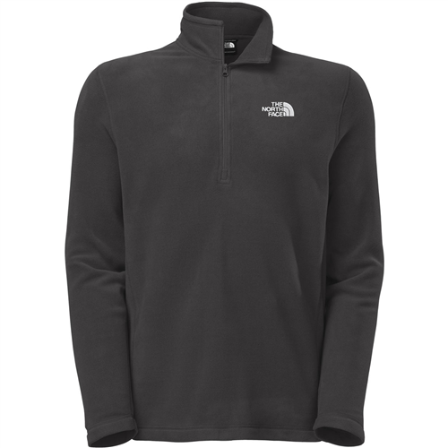 photo: The North Face Men's TKA 100 Microvelour Glacier 1/4 Zip fleece top