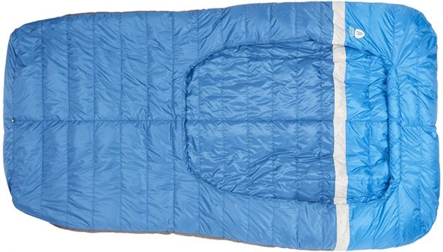 photo: Sierra Designs Backcountry Bed Duo 35 / 700 DriDown warm weather down sleeping bag