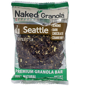 photo of a Naked Granola nutrition bar