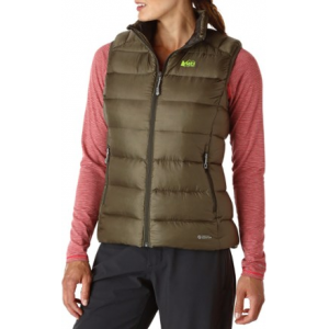 photo: REI Women's Stratocloud Vest down insulated vest
