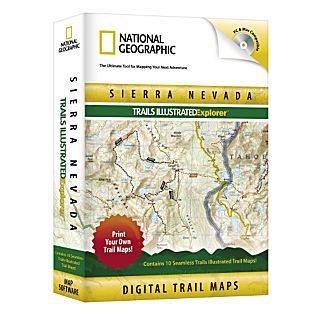 photo: National Geographic Sierra Nevada Explorer CD-ROM us pacific states map application