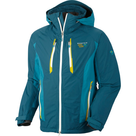 photo: Mountain Hardwear Vertical Peak Jacket snowsport jacket