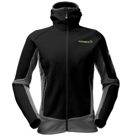 photo: Norrona Women's Lyngen Warm2 Stretch Jacket fleece jacket