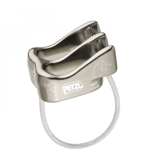 photo: Petzl Verso belay/rappel device