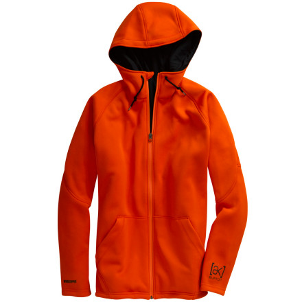photo: Burton Blitzer Windstopper Hoodie fleece jacket