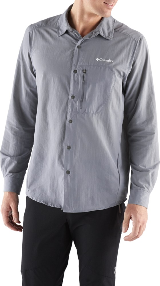 photo: Columbia Featherweight Hike Long Sleeve Shirt hiking shirt