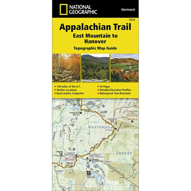 National Geographic Appalachian Trail: East Mountain to Hanover