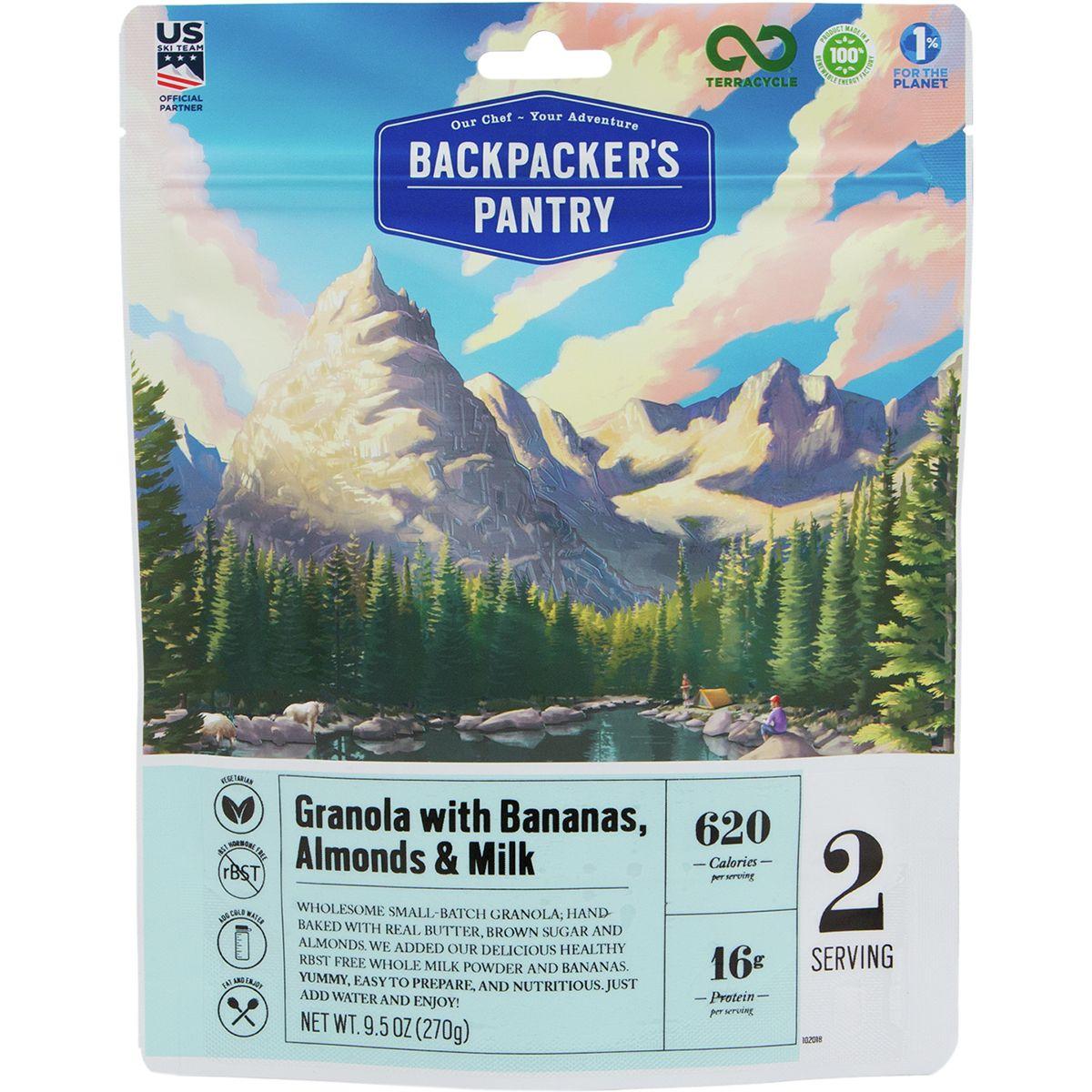 Backpacker's Pantry Granola with Bananas & Milk