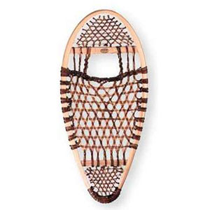 photo: Faber Bear Paw - Heavy Duty Lacing wooden snowshoe
