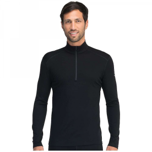 photo: Icebreaker Men's Oasis Long Sleeve Half Zip base layer top
