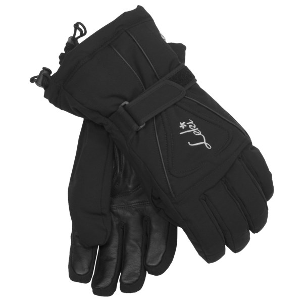 photo: Leki Lotus S Ski Gloves insulated glove/mitten