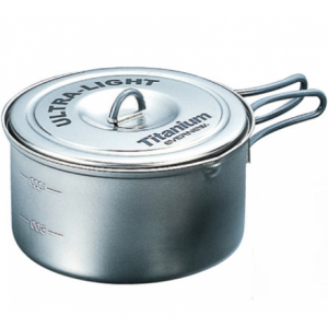 photo: Evernew Ti Ultralight Pot 1.3L pot/pan