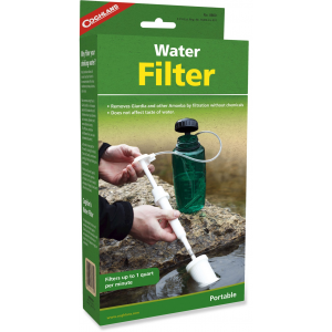 photo: Coghlan's Water Filter pump/gravity water filter