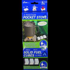 photo: Bleuet Pocket Stove solid fuel stove