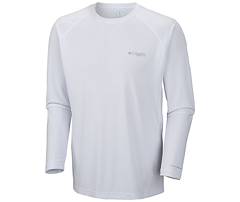 photo: Columbia Cool Catch Zero Long Sleeve Shirt long sleeve performance top