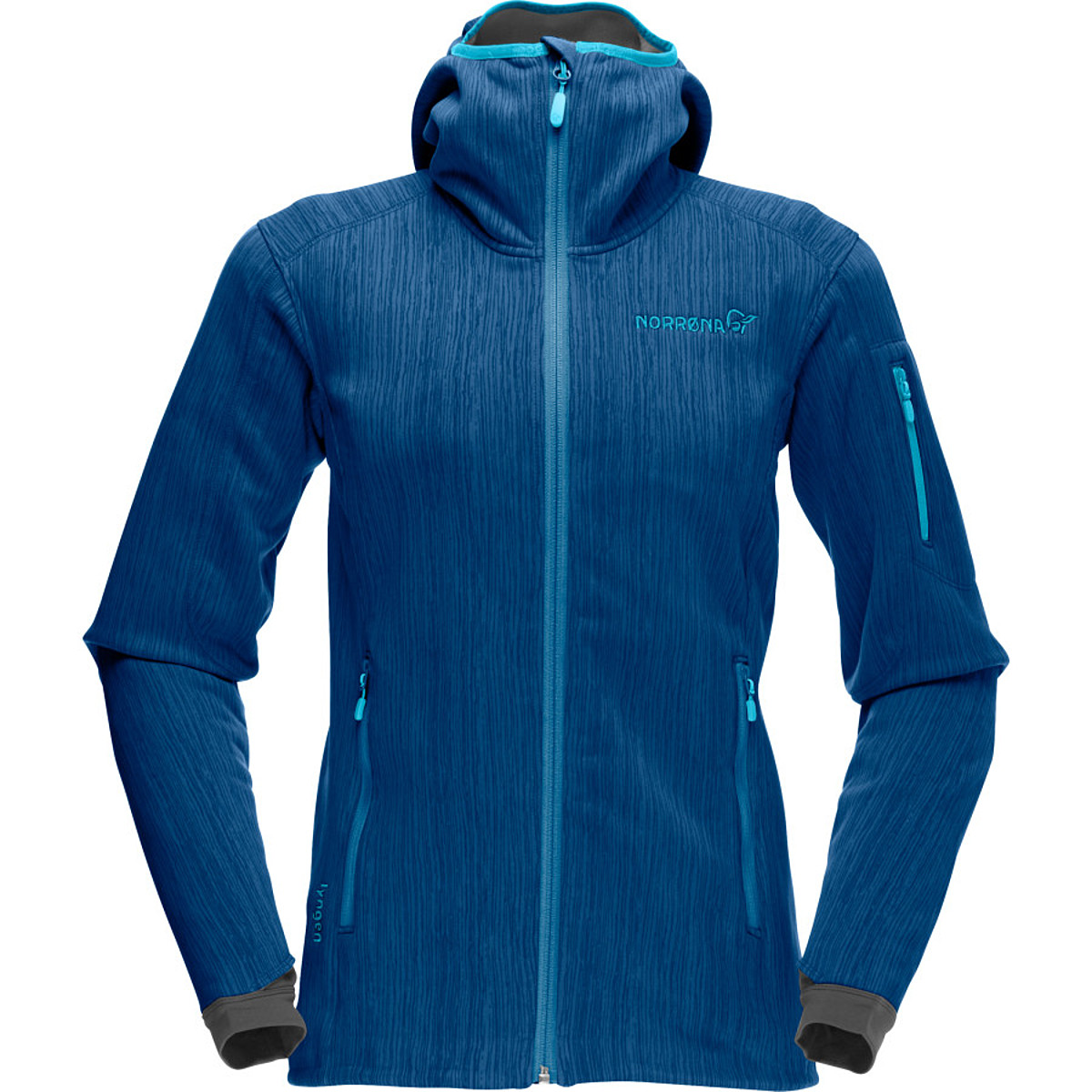 photo: Norrona Women's Lyngen warm2flex Jacket fleece jacket