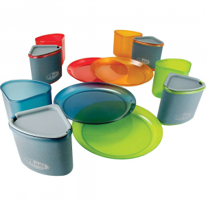 photo: GSI Outdoors Infinity 4 Person Compact Table Set plate/bowl