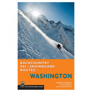 photo: The Mountaineers Books 100 Classic Backcountry Ski and Snowboard Routes In Washington us pacific states guidebook