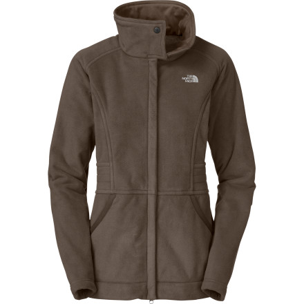 photo: The North Face Angelica Parka fleece jacket