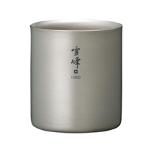 Snow Peak Titanium Stackable Double Wall H300 Cup