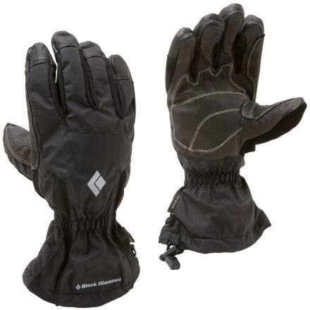 photo: Black Diamond System Shell GTX Gloves waterproof glove/mitten