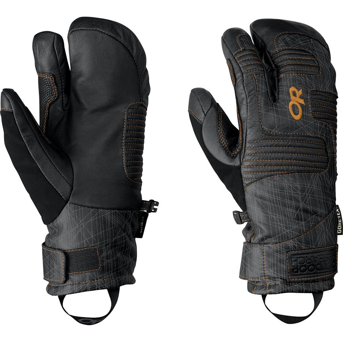 Outdoor Research Point 'n Chute 3-Finger Gloves