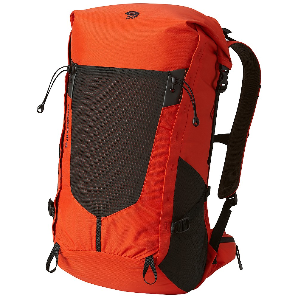photo: Mountain Hardwear Scrambler Roll Top 35 OutDry overnight pack (35-49l)