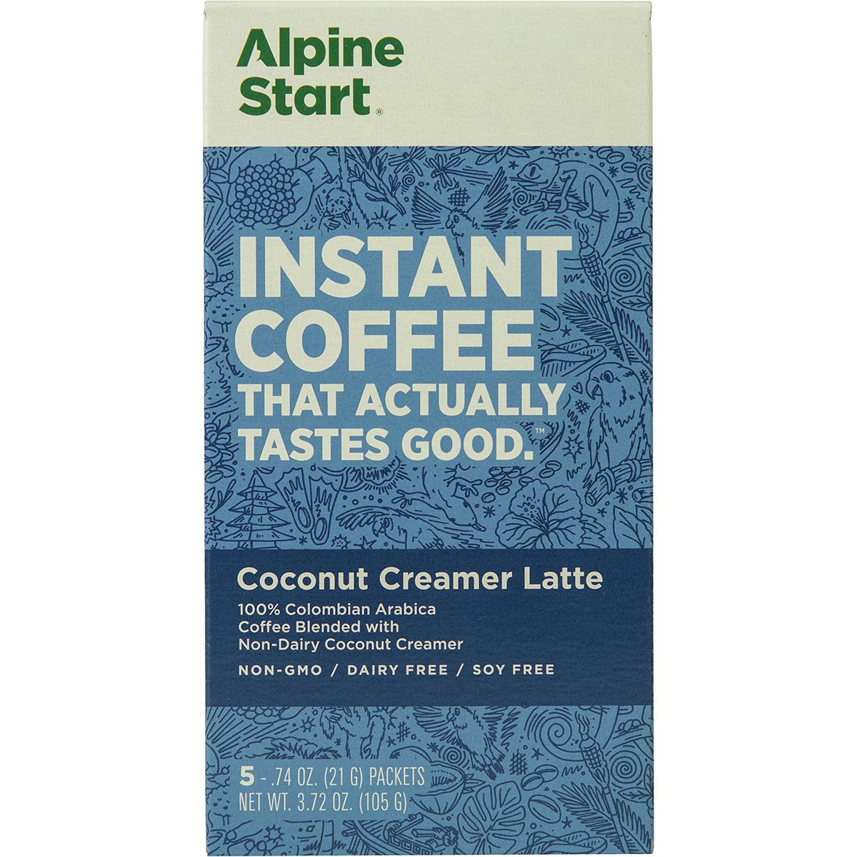 Alpine Start Coconut Creamer Latte