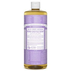 photo: Dr. Bronner Lavender Liquid Soap soap/cleanser