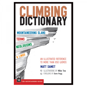 photo: The Mountaineers Books The Climbing Dictionary climbing book