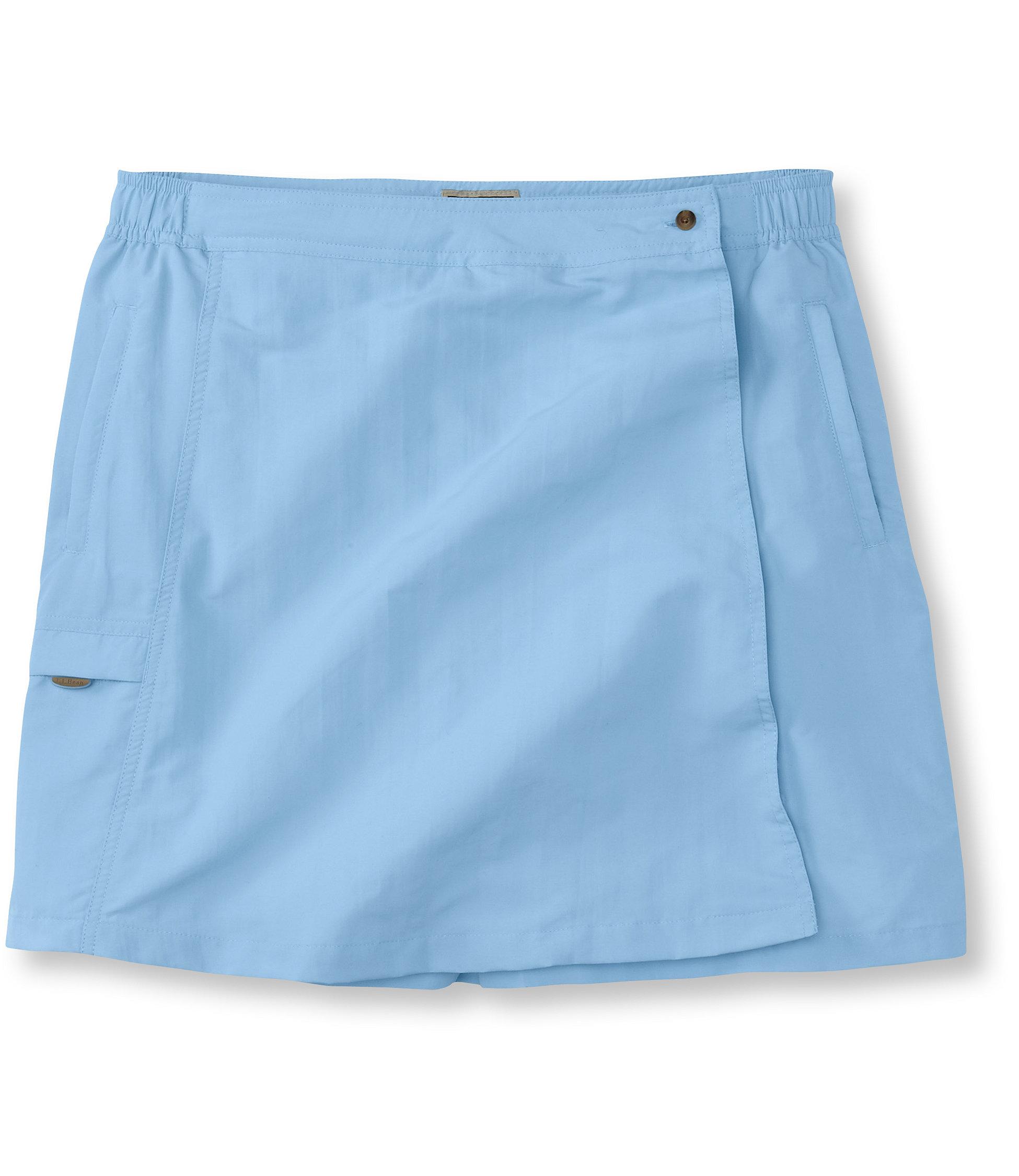 L.L.Bean Tropicwear Skort
