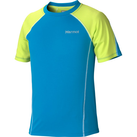 photo: Marmot Boys' Agile SS short sleeve performance top