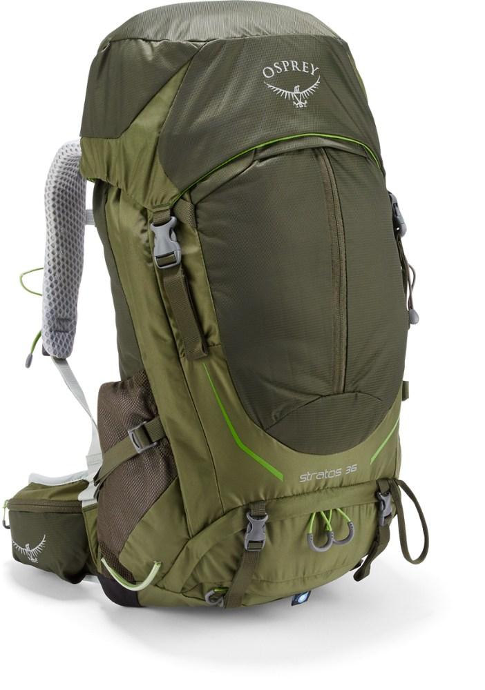 photo: Osprey Stratos 36 overnight pack (35-49l)