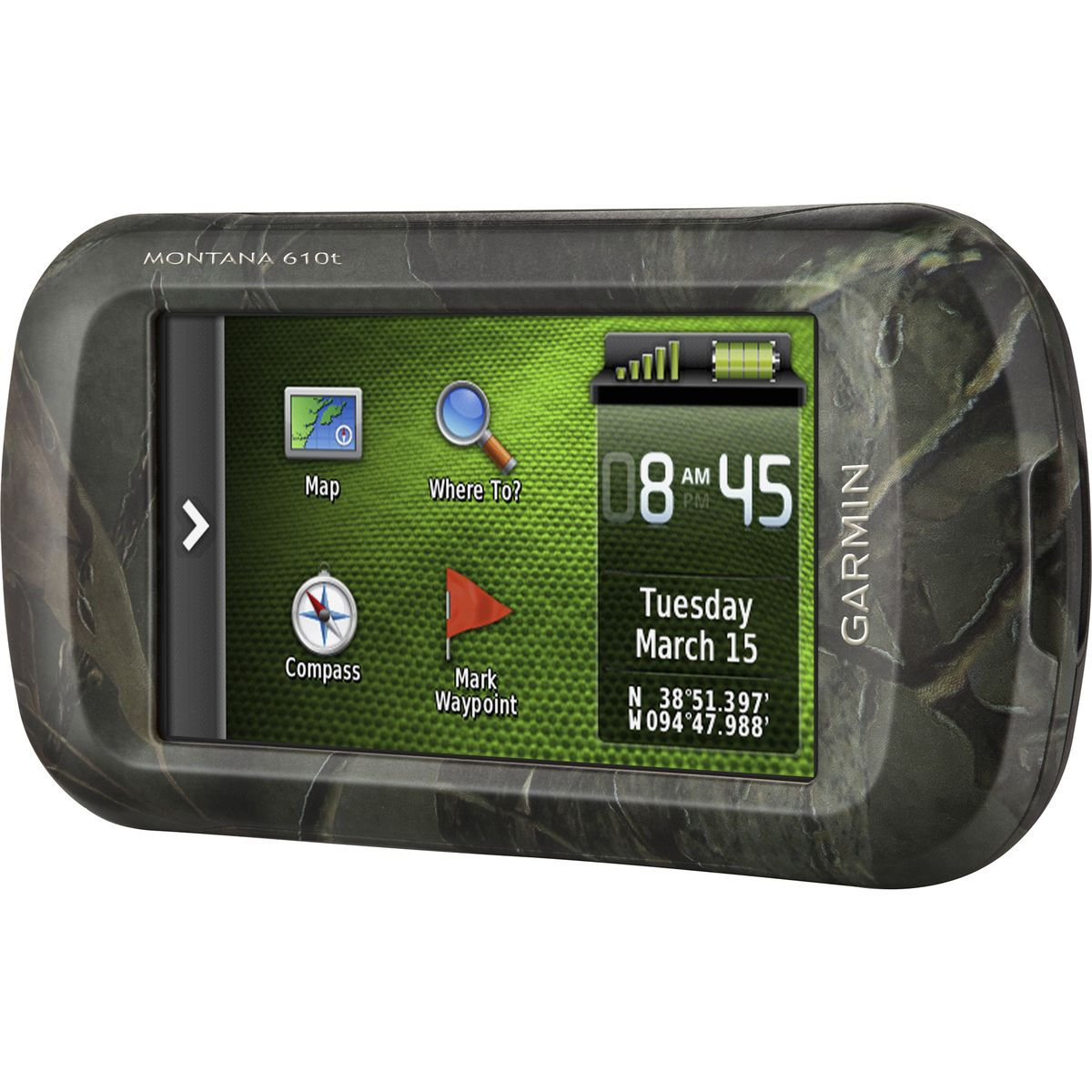 photo: Garmin Montana 610t handheld gps receiver