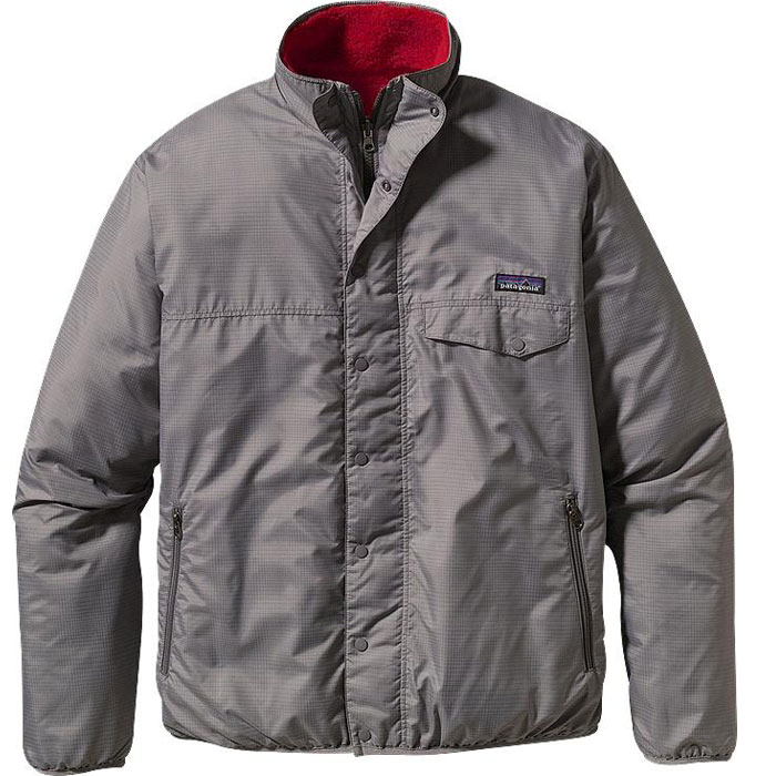 photo: Patagonia Kids' Reversible Snap-Zip Jacket fleece jacket