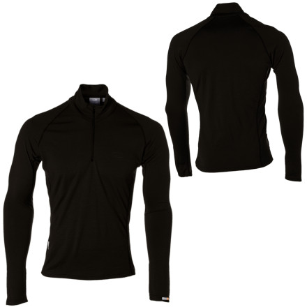 photo: Icebreaker Men's 200 Lightweight Mondo Zip base layer top