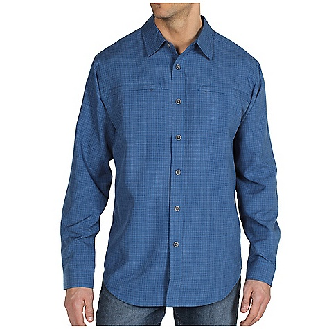 ExOfficio Trifecta Plaid Long-Sleeve Shirt