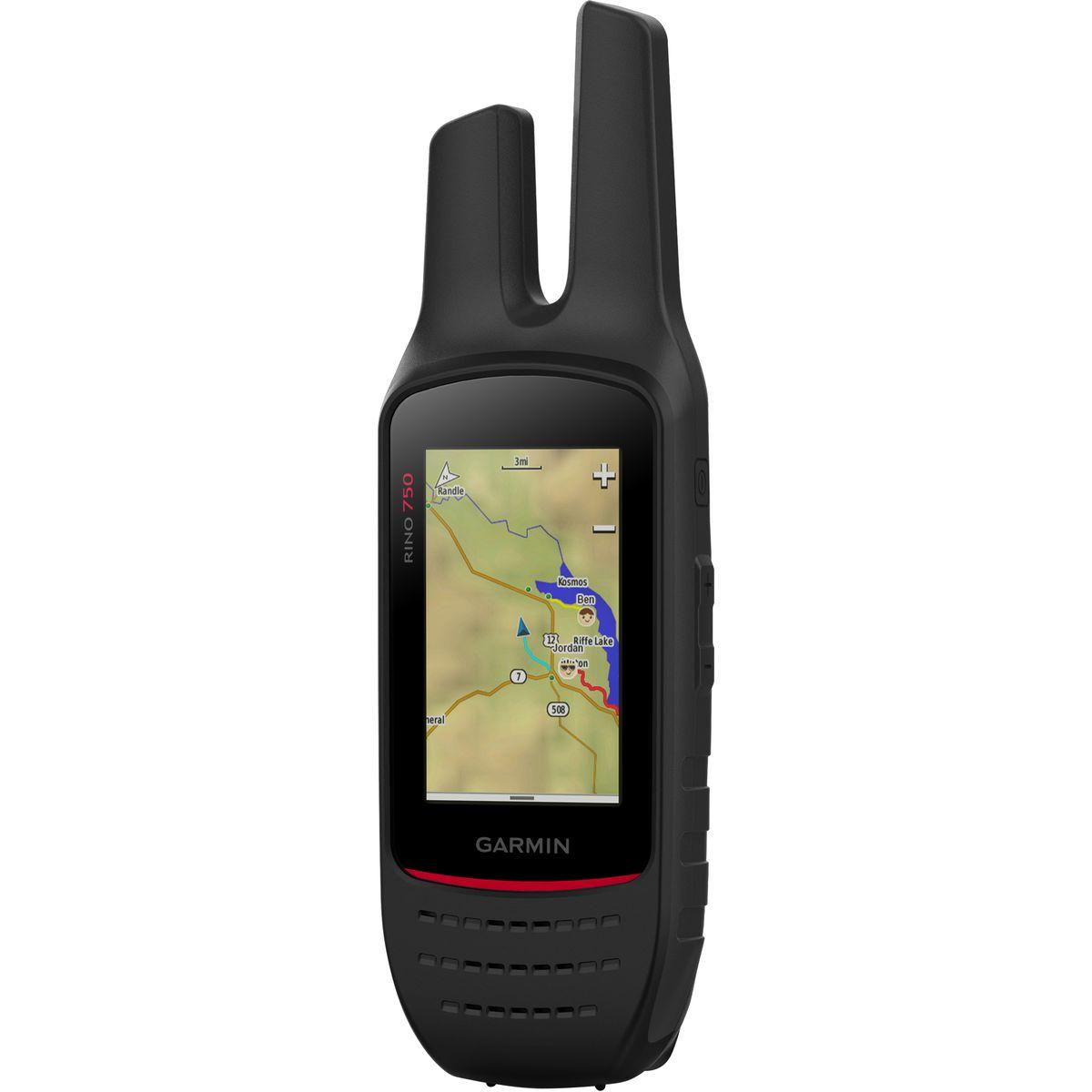 photo: Garmin Rino 750 GPS/2-Way Radio handheld gps receiver