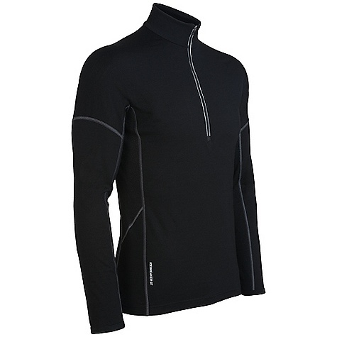 photo: Icebreaker Men's GT 200 L/S Chase Zip base layer top