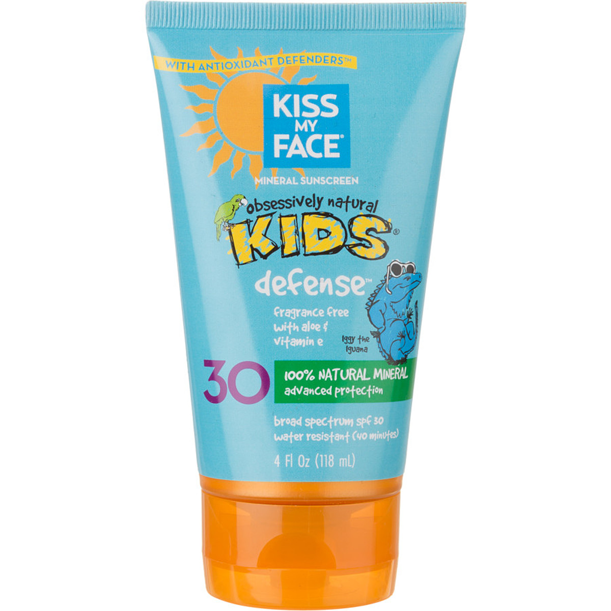Kiss My Face Natural Mineral Sunblock Lotion SPF 30