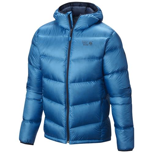 photo: Mountain Hardwear Kelvinator Hooded Jacket down insulated jacket