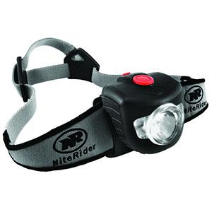 photo of a NiteRider headlamp