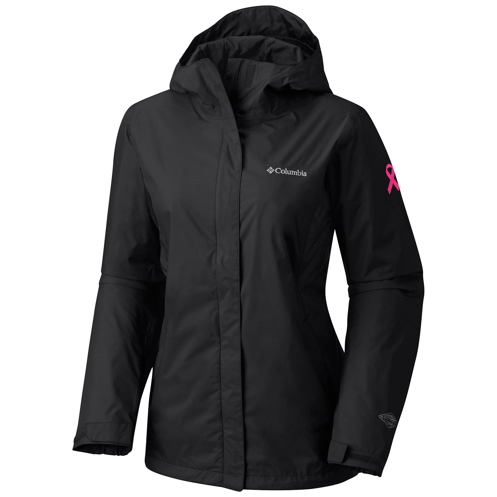 Columbia Tested Tough in Pink Rain Jacket II
