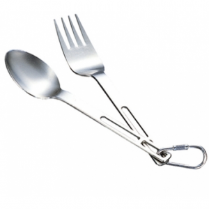 Evernew Ti Spoon and Fork Set