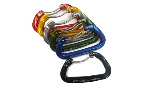 photo: Fixe Faders 6-Pack Colored Aliens Carabiners non-locking carabiner