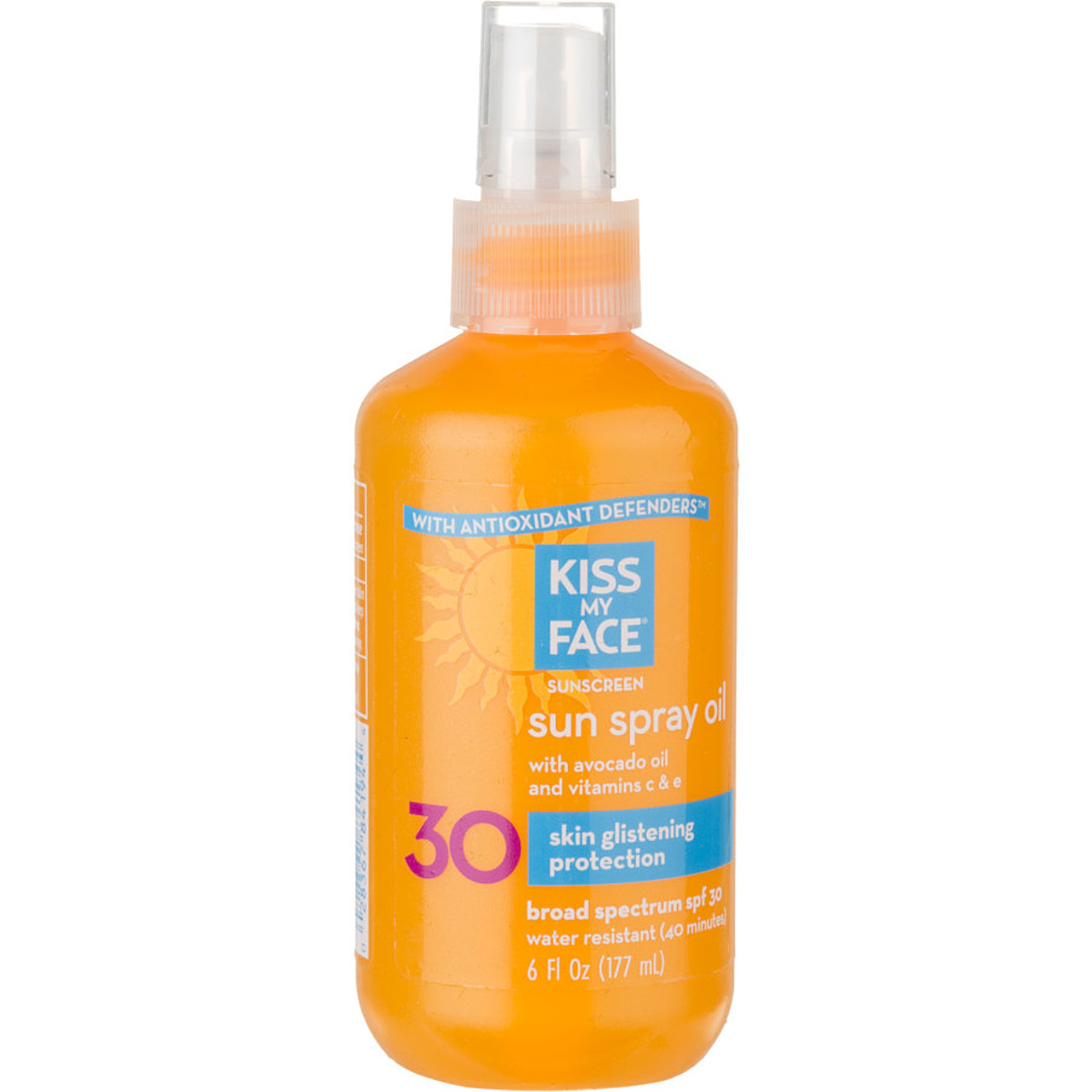 photo: Kiss My Face Sun Spray SPF30 sunscreen
